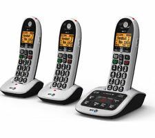 BT 4600 Trio Digital Cordless Phone with Answering Machine & Speaker Phone