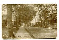 Vintage Postcard ROCKLAND MAINE ME Beech Street houses homes UDB