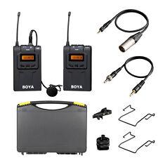 Original BOYA BY-WM6 UHF Omni-Directional Wireless Microphone For DSLR Camera