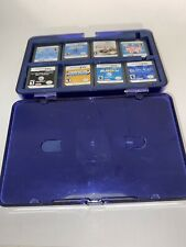 Nintendo DS Case With 8 Games