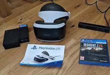 PS4 / PS5 PlayStation VR V1 Bundle - Headset, Camera + Resident Evil VII - PSVR