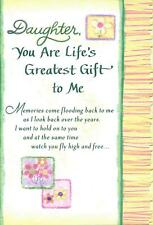 Daughter You are Life's Greatest Gift to Me ~ Blue Mountain Arts CBM401