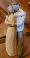 "New ListingTogether Figurine Willow Tree 9"" by Susan Lordi 2000 Demdaco Husband Wife Couple"
