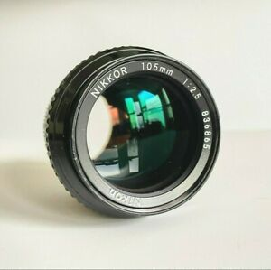 Nikon105mm F/2.5 NIKKOR AIs Manual Focus Lens