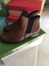 Brown Leather Boots Size 38 $259 Remonte