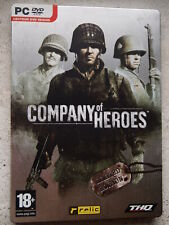 COMPANY OF HEROES limited edition steelbook | PC DVD Ed. FR