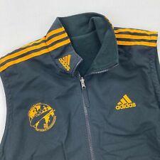 VTG 2003 FIBT Bobsleigh World Championships Adidas Fleece Lined Zip Vest • LARGE