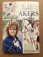 Michelle Akers Signed Promo US Womens Soccer 2 x World Cup Olympic Champion