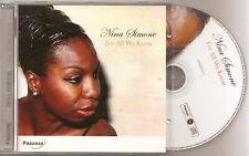 "Nina Simone - ""For All you Know"""