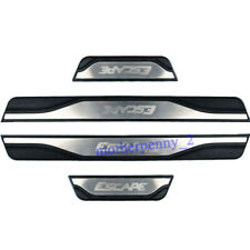 For Ford Escape Accessories Door Sill Protector Scuff Plate Guard 2014 2021 4pcs