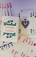 Vintage Grolsch Lager Beer ~ Playing Cards By Carta Mundi Belgium 52