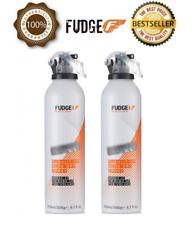 2 X Official Fudge Push it Up Blow Dry Spray 200ml