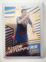 Panini 2017 carte card soccer Barcelone revolution show stoppers S-5 Suarez