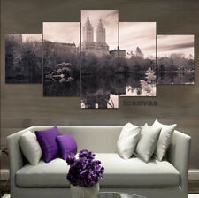 Central Park New York City 5 pcs HD Modern Art Wall Home Decor Canvas Print