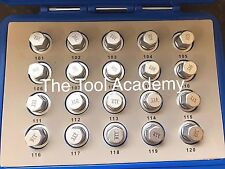 Locking Wheel Nut Keys Vauxhall Opel Tool Set Equiv OEM Z16512-101 TO Z16512-120