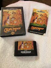 QUACKSHOT Starring Donald Duck (Sega Genesis, 1991) Complete with Manual