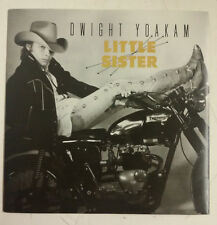 "Dwight Yoakam Little Sister Single 7"" UK 1987"