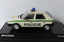 SKODA FAVORIT 136L 1987 VOJENSKA POLICIE PRAHA ABREX 143ABSX708XY05 1/43 PRAGUE