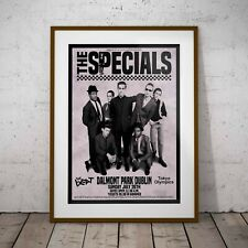 The Specials 1981 The Final Concert Poster Framed or 3 Print Options EXCLUSIVE