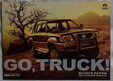 TATA TL 4x4 pick-up (made in India) _ 2006 prospetto/Brochure