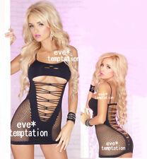 Fishnet Babydoll hot Sexy Lingerie Underwear Striptease Bodysuits sleepwear DOLL