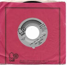 ORLANDO, Tony; & DAWN  (It Only Hurts When I Try To Smile)  Bell 45,450