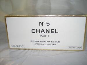 CHANEL No 5  after powder 5 OZ  SEALED BOX