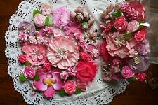 PINK TONES DELIGHT - 38 Flower Petals Mix 1-9cm Manor House WMF