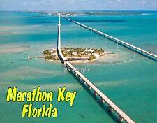 Florida - MARATHON KEY - Travel Souvenir Flexible Fridge Magnet