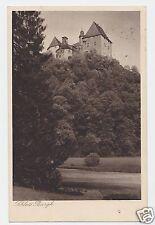 "Ak aus Thüringen ___/__ ""Schloss Burgk"" ___/__ PLZ 07907 ___/__ gelaufen"