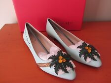 Kate Spade New York - Evalina Leather Flats - I Need A Vacation Size 7.5M - NEW