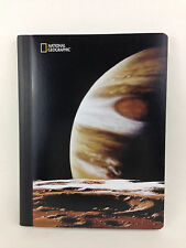 National Geographic Composition Lined Student College Notebook Planet Saturn new