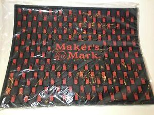 """NEW Maker's Mark Bourbon Extra Large Bar Serving Station Mat Drip Mat 14"""" x 11"""""""