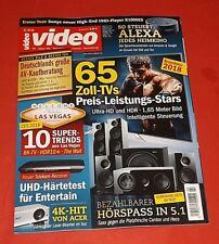VIDEO 03/2018 65Zoll-Tv, Alexa, 10 Super-Trends,Hörspass in 5.1 ungelesen