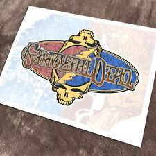 Grateful Dead / Other Ones - Flip Type 2002 - Art Print signed (Ap) B.Woodruff