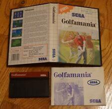 Golfamania (Sega Master System SMS) Complete in Case PAL Import