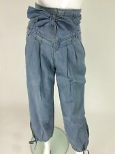 Miss Sixty New Women's Joy Jeans Size W24 Color Sky Blue Made in Italy