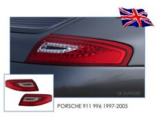 PORSCHE 911 996 (97-05) DECTANE LED REAR TAIL LIGHTS RED/CLEAR - UK STOCK