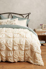 NIP Anthropologie Rosette Quilt TWIN Neutral (2 available)