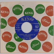 RENO & SMILEY: Things Are Gonna Be Different KING Hillbilly 45 NM- Country