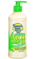 (Lot of 2) Banana Boat Aloe Vera Sun Burn Relief Sun Care After Sun Lotion 16oz