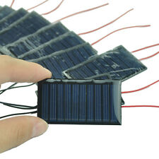 10Pcs/5V 0.15W Polycrystalline Solar Panel Efficient 30mA Solar Cell PV Module
