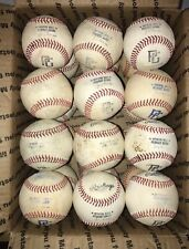 Used Leather 24 Baseballs Awesome Condition Perfect For Practice And Training