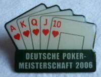 POKER 14. DEUTSCHE MEISTERSCHAFT 2006 TEILNEHMER PIN