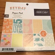 NEW Studio Calico HEYDAY 6x6 Paper Pad 36 Single-sided