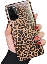 Leopard Print Pattern Soft Rubber Case Samsung Galaxy Note 20 S20 S10 S9 S8 Plus