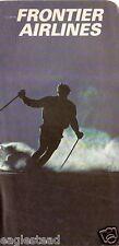 Ticket Jacket - Frontier - Skier Ski Rockies - c1972 (J1891)