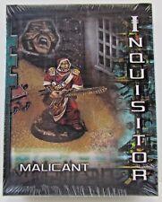 Inquisitor Malicant Sealed Box RARE OOP Citadel Games Workshop FREE SHIP