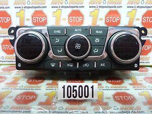 13 14 15 CHEVROLET TRAVERSE AUTO AC HEATER CLIMATE TEMPERATURE CONTROL 23158333