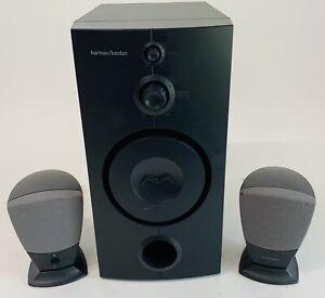 Harman/Kardon HK395 Computer Speaker System w/ Subwoofer & 2 Satellite Speakers